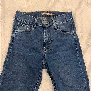 Levi's Jeans - Levi's 720 High waisted skinny jeans
